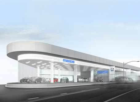 Multi-franchise Auto Showroom 3