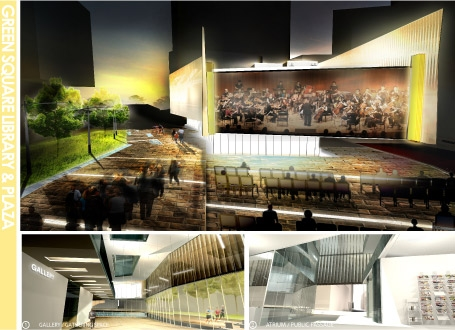 Green Square Library Competition